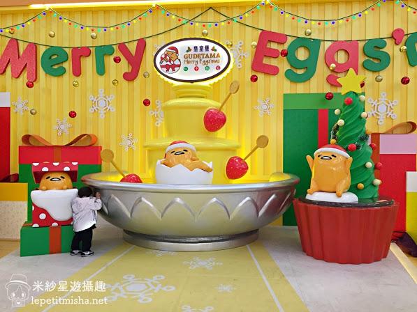【銅鑼灣】皇室堡 Windsor House.梳乎盛宴 GUDETAMA Merry Eggs'mas @2016香港聖誕