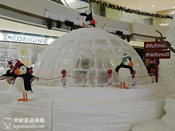 【中環】國際金融中心商場 IFC Mall.The Polar Resort 與北極動物歡度聖誕 @2016香港聖誕
